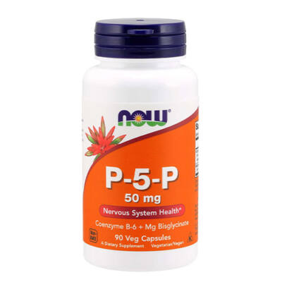 NOW Foods P-5-P 50mg (90 kapszula)