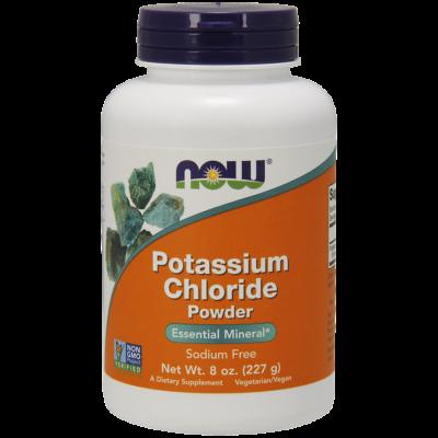 NOW Foods Potassium Chloride Powder (227g)