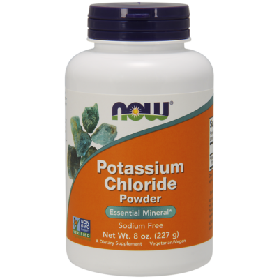NOW Foods Potassium Chloride Powder (227g)