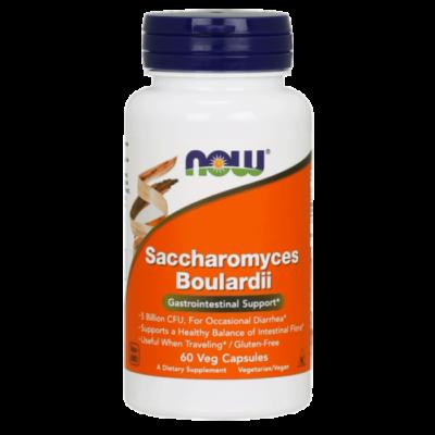 NOW Foods Saccharomyces Boulardii (60 kapszula)