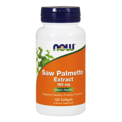 NOW Foods Saw Palmetto Extract 160mg (120 lágy kapszula)