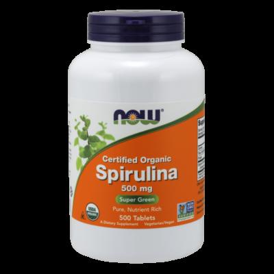 NOW Foods Spirulina 500mg (500 tabletta)