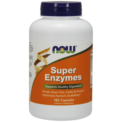 NOW Foods Super Enzymes (180 kapszula)