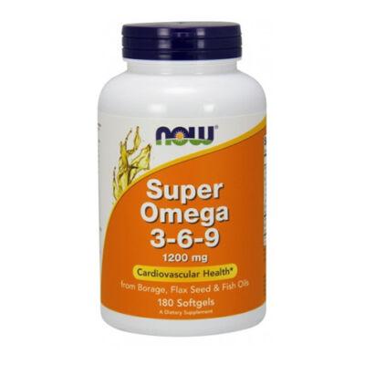 NOW Foods Super Omega 3-6-9 1200mg (180 kapszula)