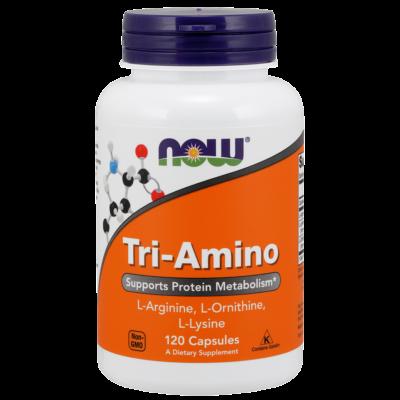 NOW Foods Tri-Amino (120 kapszula)