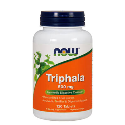 NOW Foods Triphala 500mg (120 tabletta)