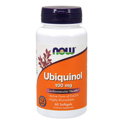 NOW Foods Ubiquinol 100mg (60 lágy kapszula)
