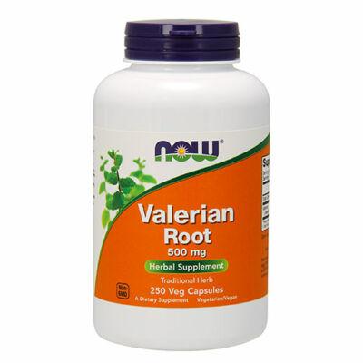 NOW Foods Valerian Root 500mg (250 kapszula)