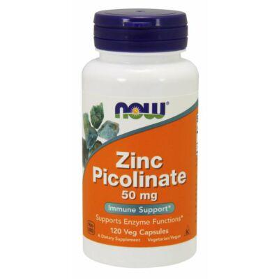 NOW Foods Zinc Picolinate 50mg (120 kapszula)