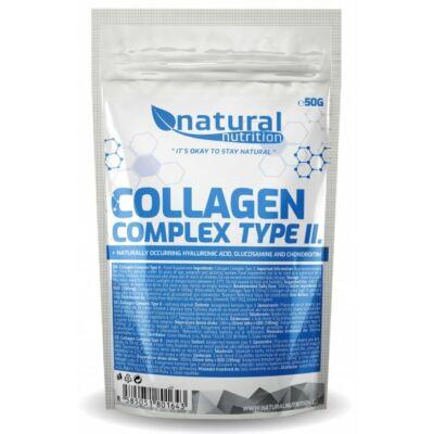Natural Nutrition Collagen Complex Type II. (2-es típusú csirke kollagén por) (50g)
