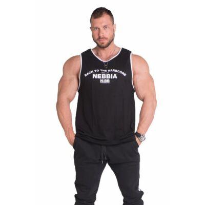 NEBBIA HardCore Atléta trikó 395 (Fekete)
