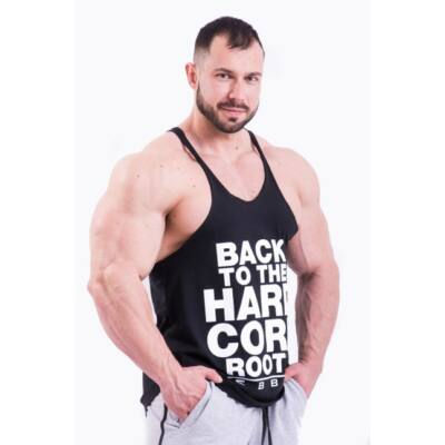 NEBBIA HardCore Atléta trikó 399 (Fekete)