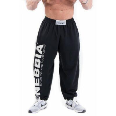 NEBBIA Hardcore Fitness Sweatpants 510 (Fekete)