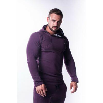 NEBBIA AW Asymmetrical pulóver 721 (Burgundi)