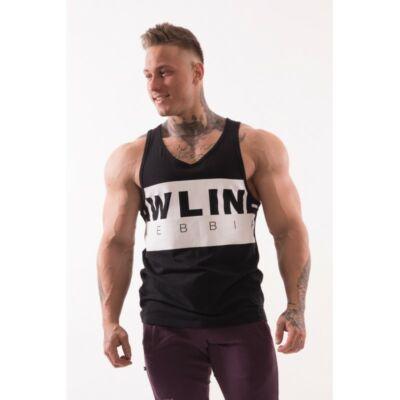 NEBBIA AW 90'S Muscle ujjatlan trikó 723 (Fekete)