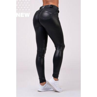 NEBBIA Squat Proof Bubble Butt leggings 539 (Fekete)