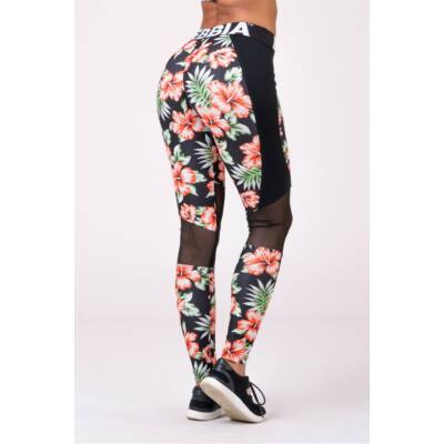 NEBBIA Aloha Babe leggings 550 (Virágmintás)