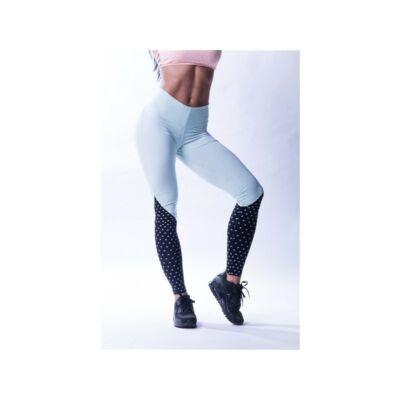 "NEBBIA High Waist ""N""s női leggings 638 (Menta/fekete)"