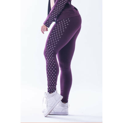 """NEBBIA """"N""""s női leggings 653 (Burgundi)"""