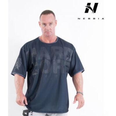 NEBBIA HardCore Trikó 303 (Fekete)