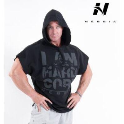 NEBBIA HardCore Regtop Hoodie 311 (Fekete)