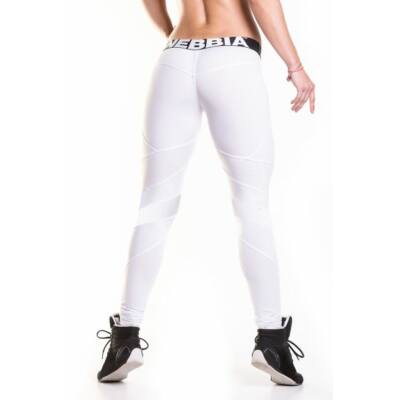 NEBBIA Network leggings 284 (Fehér)