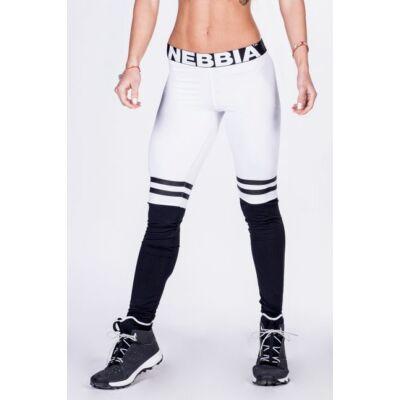 NEBBIA Over the knee leggings 286 (Fehér)