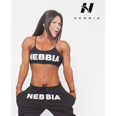 "NEBBIA Mini Trikó ""HOSTESS"" 264 (Fekete)"