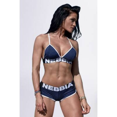 NEBBIA Fitness melltartó 267 (Kék)