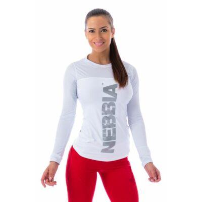 NEBBIA Funkcionális trikó 220 (Fehér)