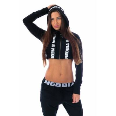 NEBBIA Mini Kabátka 233 (Fekete)