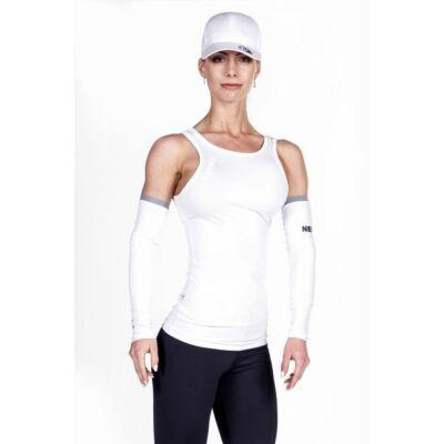 NEBBIA Cut-Out Fitness Top 268 (Fehér)