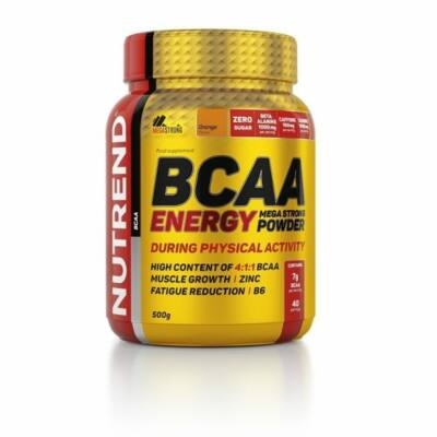 Nutrend BCAA Energy Mega Strong Powder (500g)