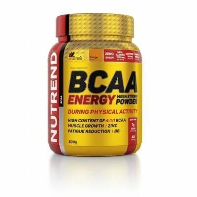 Nutrend BCAA Energy Mega Strong Powder (500g)