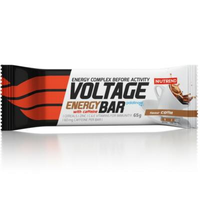 Nutrend Voltage Energy Bar with Caffeine (25 x 65g)