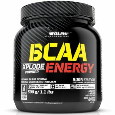 Olimp BCAA Enregy Xplode Powder (500g)