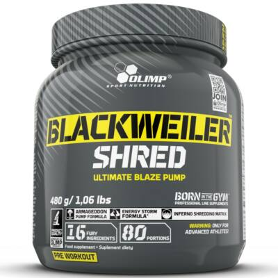 Olimp Blackweiler Shred (480g)