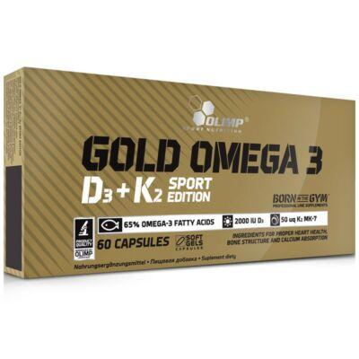 Olimp Gold Omega 3 D3+K2 (60 kapszula)