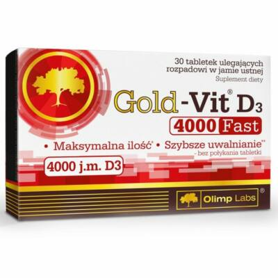 Olimp Gold-Vit D3 4000 Fast (30 tabletta)