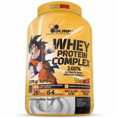 Olimp Dragon Ball Z Whey Protein Complex 100% Limited Edition (2,27kg)
