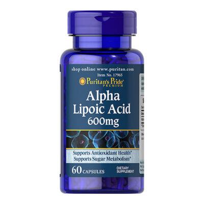 Puritan's Pride Alpha Lipoic Acid 600mg (60 kapszula)