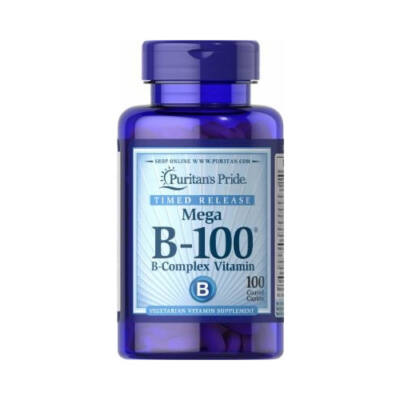 Puritan's Pride Vitamin B-100 Complex (100 tabletta)