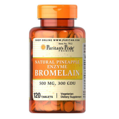 Puritan's Pride Bromelain 500mg (120 kapszula)