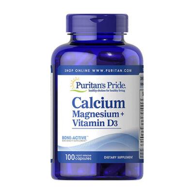 Puritan's Pride Calcium Magnesium + Vitamin D3 (100 kapszula)