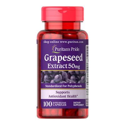 Puritan's Pride Grapeseed Extract 50mg (100 kapszula)