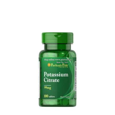 Puritan's Pride Potassium Citrate 99mg (100 tabletta)