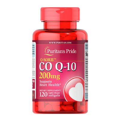 Puritan's Pride Q-SORB™ CO Q-10 200mg (120 lágy kapszula)