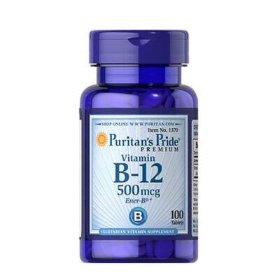 Puritan's Pride Vitamin B-12 500mcg (100 tabletta)
