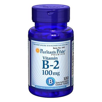 Puritan's Pride Vitamin B-2 (Riboflavin) 100mg (100 tabletta)