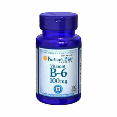 Puritan's Pride Vitamin B-6 100mg (100 tabletta)